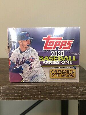 2020 Topps Series 1 Baseball Factory Sealed Jumbo Hobby Box + 2 Silver Packs