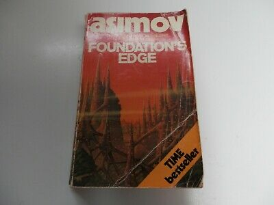 Foundation's Edge by Isaac Asimov Vintage Paperback Book Novel