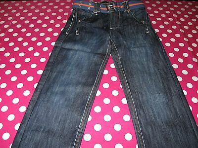 Dunnes age 9 Belted Jeans Brand New without Tag