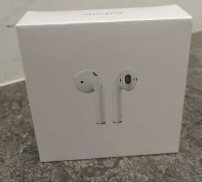 Apple AirPods 2nd Generation MV7N2ZM/A with Charging Case - White NEW