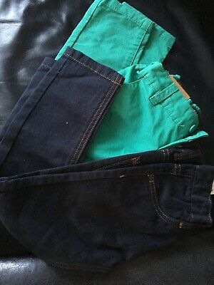 Boys Chinos Spring Summer Jeans Trousers Size 3-4 Years