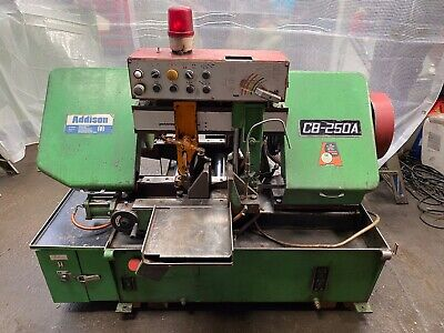 Addison CB250a Automatic Bandsaw 250mm Capacity Coolant
