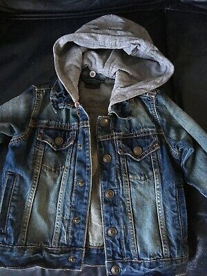 Next Boys 3-4 Years Blue Denim Jacket