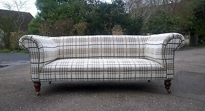 CHESTERFIELD SOFA, Original VICTORIAN, COUCH, SETTEE, ANTIQUE.