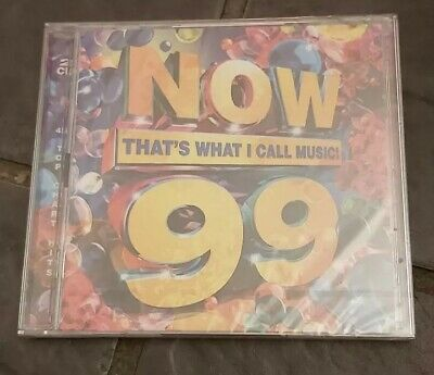 NOW THAT'S WHAT I CALL MUSIC 99 - Various - 2xCD Album *NEW & SEALED*