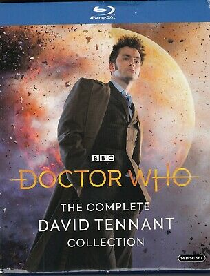 Dr. Who The Complete David Tennant Collection (Bluray)(14 Disc Set)