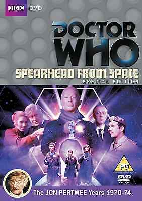 Doctor Who  Spearhead from Space (Special Edition) Jon Pertwee  UNSEALED NEW BBC