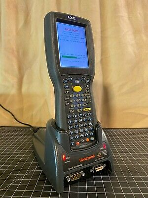 Honeywell LXE MX7T Tecton Mobile Computers w/Charger Base Battery and AC/Adapter