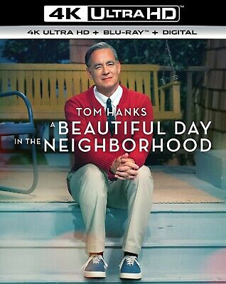 A Beautiful Day In The Neighborhood 4k + Blu-ray (No Digital) with Sleeve New