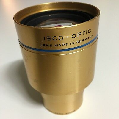 ISCO OPTIC f= 90mm 3.54 IN. Cine Projector Projection Lens ULTRA STAR HD MC