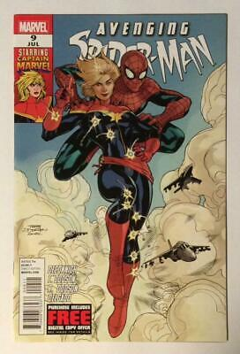 Avenging Spider-Man #9. 1st App Carol Danvers as Captain Marvel. 2012 VF/NM.