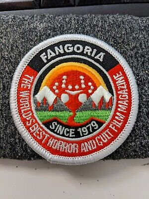 Camp Fangoria Embroidered Patch EXCLUSIVE RARE Horror Jason Voorhees Cult Film