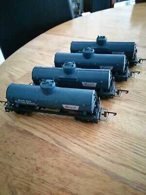 Life Like  Ho Gauge Gulf Tankers 4 Off