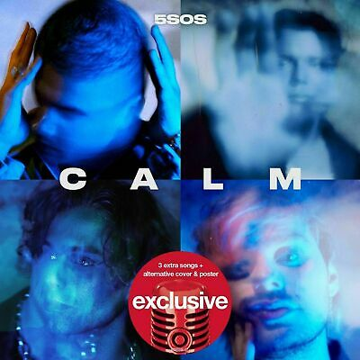 5 Seconds of Summer 5SOS - CALM Exclusive CD 3 Extra Tracks + Poster Preorder