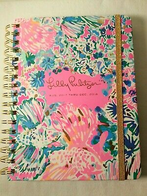 Lilly Pulitzer Planner Agenda 2017-2018 17 Month New