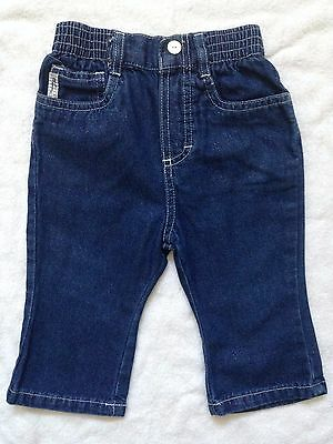 Adams Baby Boys Blue Denim Jeans For Age 9-12 Months VGC