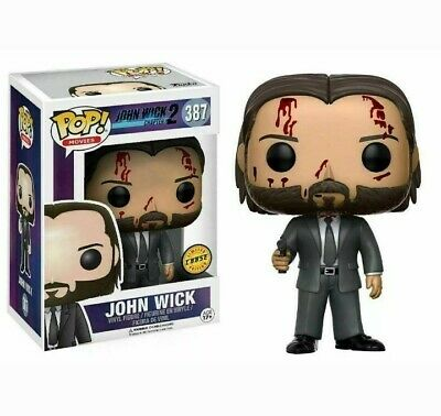 FUNKO POP! John Wick Chapter 2 #387 Bloody CHASE Limited Edition