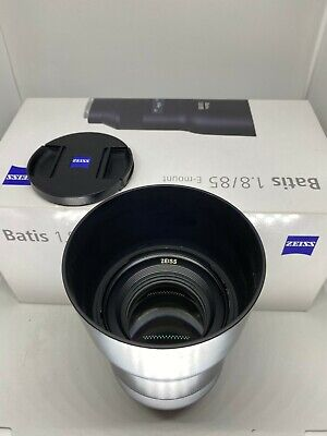 MINT! Carl Zeiss Batis 85mm f/1.8 Lens for Sony E Mount | w/ Original Box