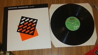 Orchestral Manoeuvres In The Dark OMD Self Titled Debut LP, 1980.  A-2U/B-3U.