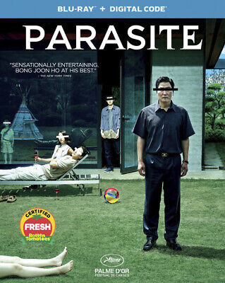 PARASITE New Blu-ray and Digital Code SEALED Oscar Winning Best Picture