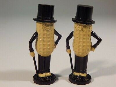Vintage Planters Peanuts Mr. Peanut Salt And Pepper Shakers