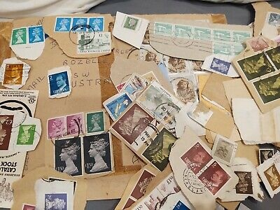 World Stamps Collection of UK, Europ+ Stamps from many Countries/Territories