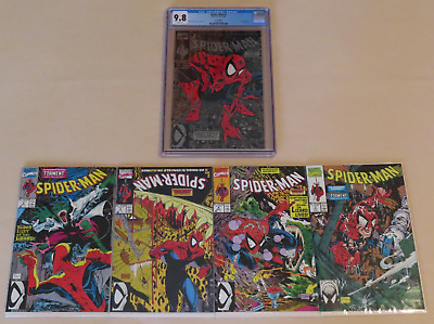"""Spiderman Silver #1 (of 5) CGC 9.8, """"Torment"""" + Readers (unread) Mint condition!"""