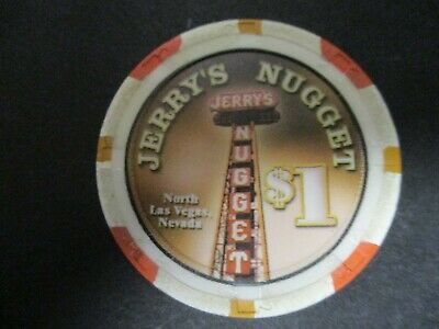 Jerry's Nugget Casino North Las Vegas Nevada $1  Chip