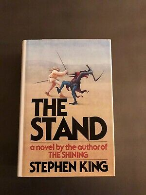Vintage BOMC 1978 Stephen King The Stand - Hardcover w/ DJ Doubleday