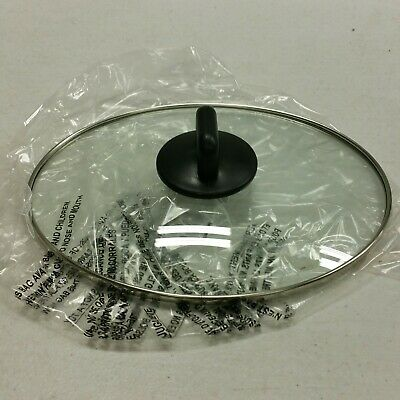 NEW Sensio Bella Triple Slow Cooker Replacement Part OVAL Glass Lid Cover