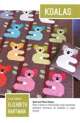 Koalas Quilt And Cushion Pattern By Elizabeth Hartman