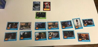 Topps Star Wars The Rise of Skywalker Lot With Foil, Sticker, And Short Print
