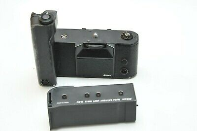 Nikon MD-4 Motor Drive for F3,F3HP With Ni-Cd Battery Unit MN-2