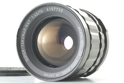【Exc++++】Pentax SMC Super Takumar 75mm 4.5 MF Lens for 6x7 67 67II from Japan