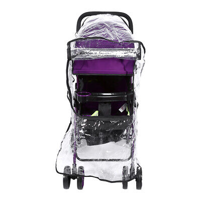 Universal Buggy Baby Pushchair Stroller Rain Cover Dust Shield Wind Shield