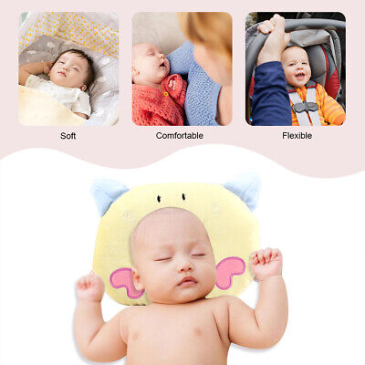 Baby Soft Pillow Infant Prevent Flat Head Sleeping Memory Foam Cushion Support