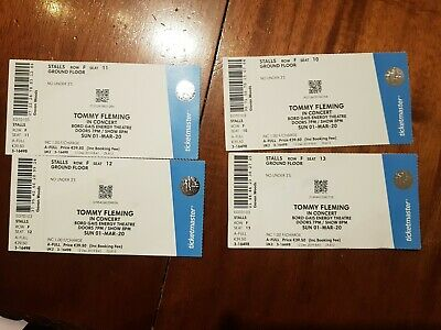 4 Tommy Fleming Tickets Dublin