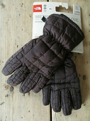 £49.99 Bnwts Wmns The North Face Metropolis Gloves (Xs) Black Ski Outdoor Padded