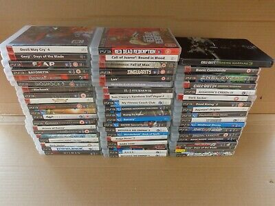 Ps3 Games Job Lot 58 Games