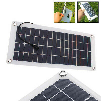 25W 12V Car Boat Yacht Solar Panel Trickle Battery Charger Outdoo Power UK New