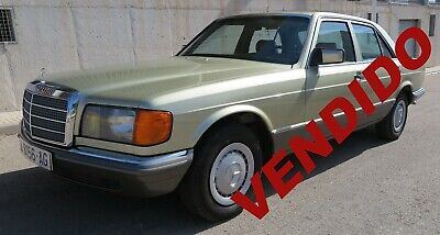 MERCEDES-BENZ 280 SE W126 MANUAL 1983 NACIONAL - 2.8 156cv - ESTADO IMPECABLE