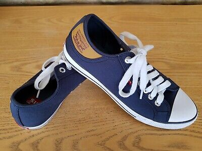 Details about Levi Navy Stan Buck Converse Denim Men Size 9