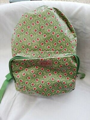 Cath kidston (kids) Green Floral Ruck Sack,Good Condition.