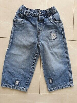 Next Baby Boys stonewashed Jeans 12/18 months