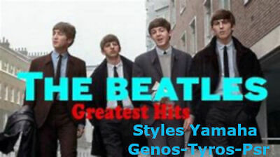"""Styles Genos-Tyros-Psr S / SX  -  """" Special BEATLES Greatest Hit's """" -"""