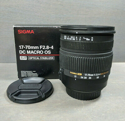 Sigma 17-70mm f/2.8-4 DC Macro OS HSM Lens for Canon - Sale!