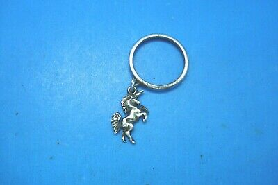 James Avery Retired Unicorn Charm Dangle Ring--Sterling Silver--Size 6.5