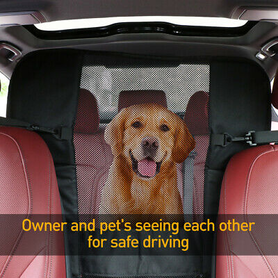UEETEK Pet Car Barrier Mesh Protection Zaun Hunde Trennnetz Auto Sicherheitnetz