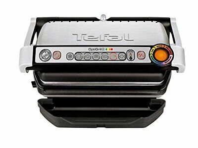 Grill Tefal Stainless Steel Optigrill+ (5 Portions) Health 2000 W Sandwich