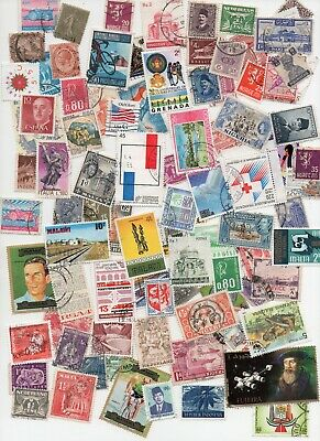 All World Mixture 1000 Stamps All Different - Off Paper lot 140